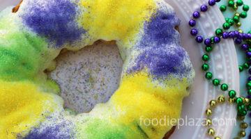 Пирог волхвов к празднику Марди Гра