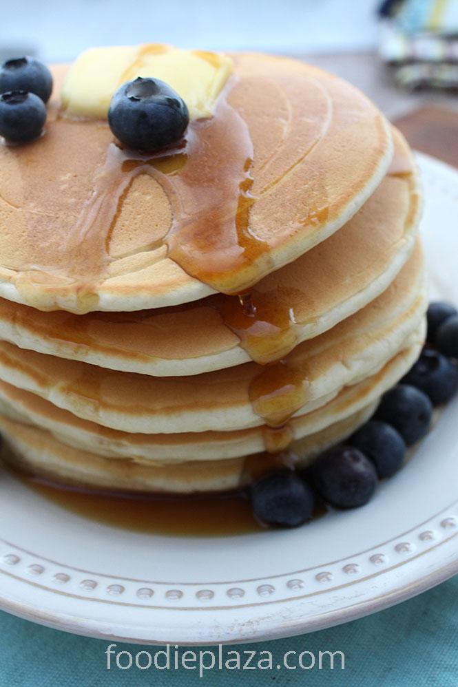 Американские панкейки, классический рецепт