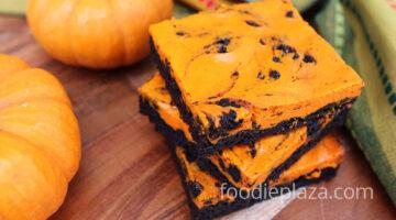 Чизкейк с брауни – десерт к Хэллоуину