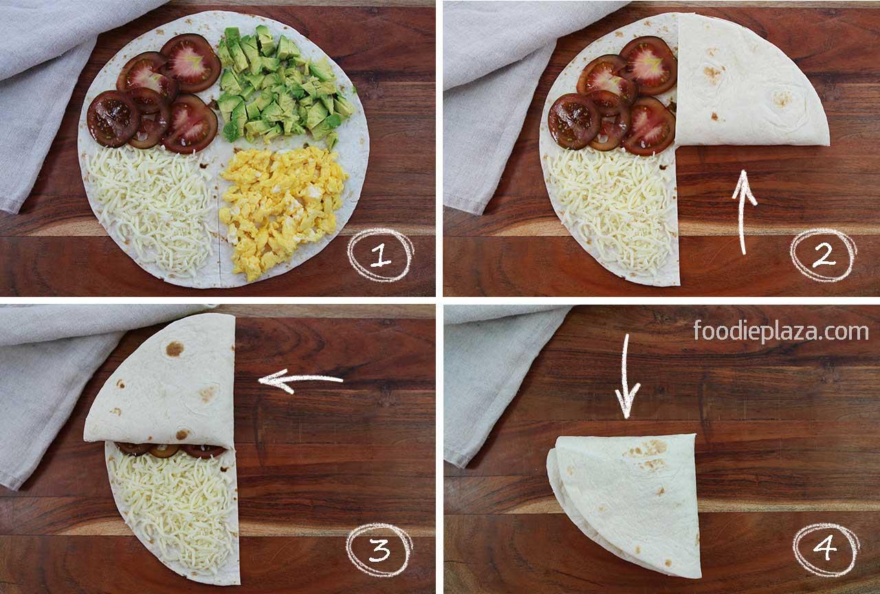 Quesadilla hack /Кесадилья хак на завтрак