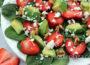 avocado-strawberry-spinach-salad
