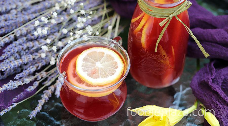 Лавандовый лимонад с асаи